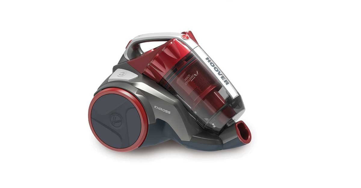 Hoover khross ks50pet Aspirapolvere a traino senza sacchetto
