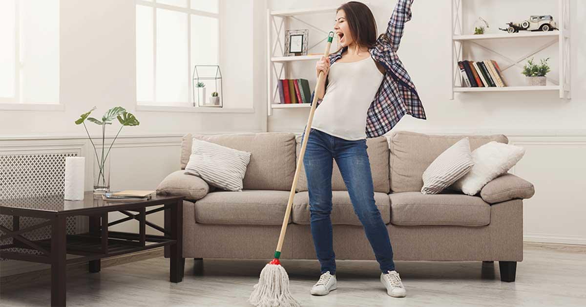 Come pulire 9 dei punti più difficili intorno della casa