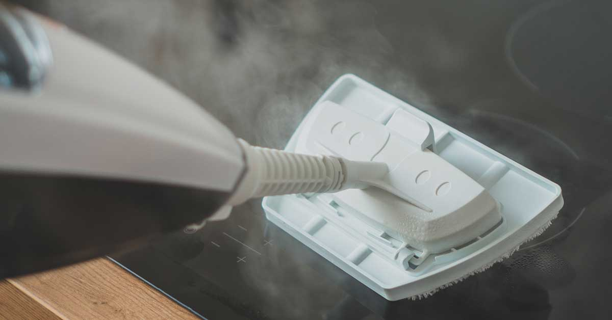 Vantaggi della pulizia con vapore