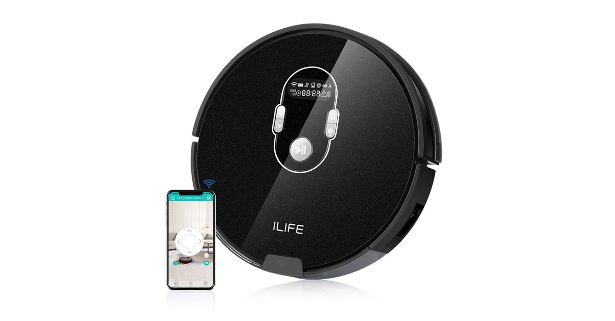 You are currently viewing ILIFE A7 Robot aspirapolvere