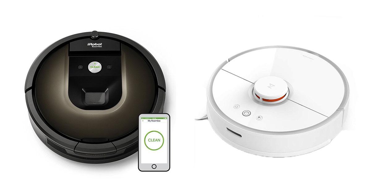 Roomba iRobot o Xiaomi Roborock Confronto