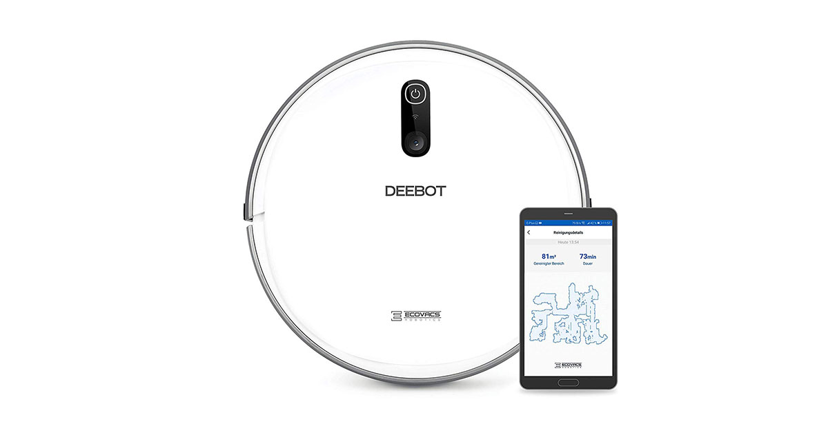 You are currently viewing ECOVACS Robotics DEEBOT 710