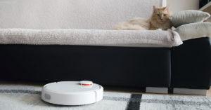 Robot aspirapolvere per peli animali