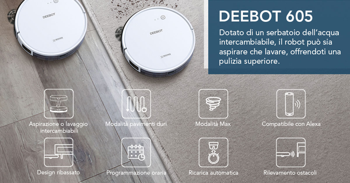 Read more about the article ECOVACS Robotics DEEBOT 605